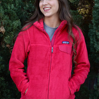 Patagonia Women's Full- Zip Re-Tool Fleece Jacket- Portofino Pink