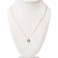 Simply Stated Rhinestone Necklace