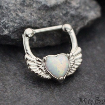 Heart Clicker in Opalite