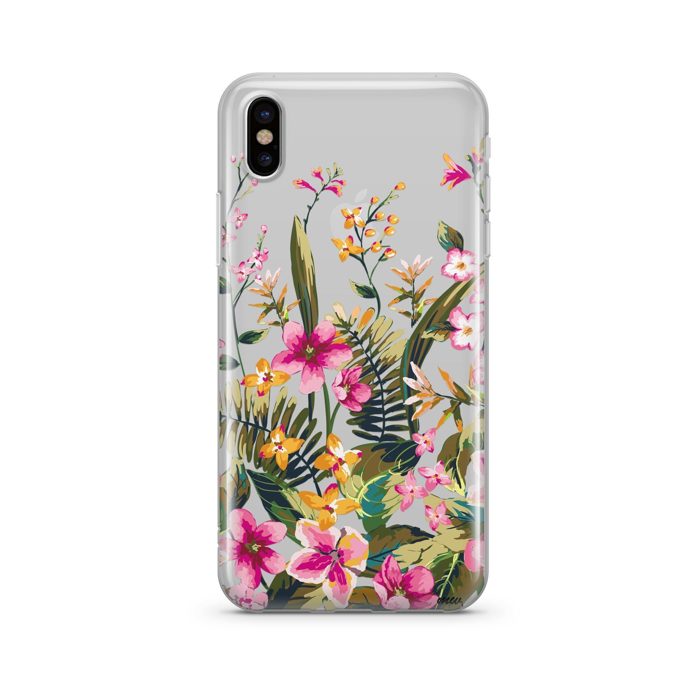 Image of Growing Garden - Clear TPU Case Cover