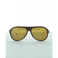 Tom Ford FT0624 (52E) Nicholai Sunglasses for Men Comes with case and cleaning cloth