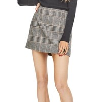 Raye Plaid Skirt