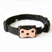 Mini Pet GPS Tracker Waterproof Smart GPS Tracker With Collar For Pets Cat Dog GPS+LBS Location Free APP LED Indicator