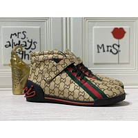 Gucci2020 Men Fashion Boots fashionable Casual leather Breathable Sneakers Running Shoes08150gh