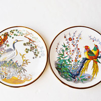 decorative porcelain plates, japanese porcelain, vintage plates, porcelain plates,porselana decoration,christmas gift, porcelain collection,