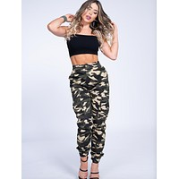 Camo Cargo  Pant Joggers (Clearance)