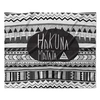 "Vasare Nar ""Hakuna Matata"" Fleece Throw Blanket"
