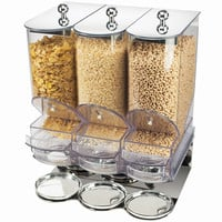 17W x 13.5D x 22H Portion Control Cereal Dispenser