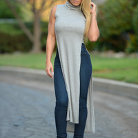 Out of Shell Top - Grey