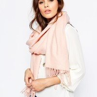 Pieces Kial Oversized Scarf at asos.com