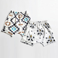 2016 Baby Bloomers Baby Boys Girls Shorts PP Children's Summer Harem Shorts For Boys Toddler Clothing Kids BoBo Beach Shorts