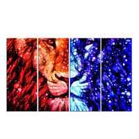 Lion King Canvas Wall Art Print