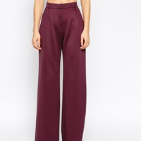 ASOS Wide Leg Pant in Structured Fabric