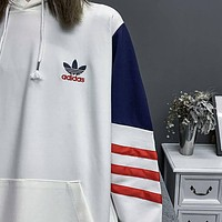 ADIDAS Woman Men Fashion Top Sweater Pullover Hoodie