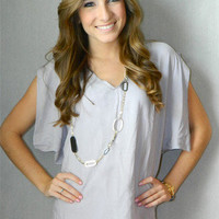 Michelle Blouse | Girly Girl Boutique