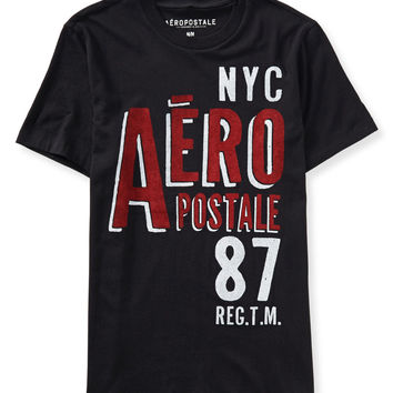 Aeropostale  NYC 87 Stacked Logo Graphic T
