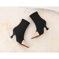 Celine  Women Casual Shoes Boots popularable casual leather Women Heels Sandal Shoes