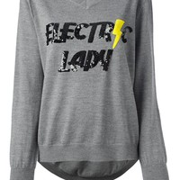 Markus Lupfer 'Electirc Lady' Sequinned Sweater