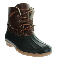 Speyside Olive Duck Boot