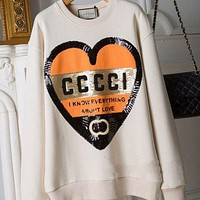 GUCCI Fashion Pullover Sweatshirt