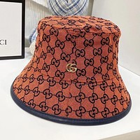 Dior GG men's and women's light luxury high-end fisherman hat