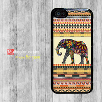 iPhone 5c case iPhone cases cute elephant flower Plan India Personalized iPhone Case