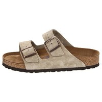 Birkenstock Women's Arizona Taupe Soft Footbed (N) Sandals