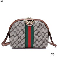 GUCCI 2019 new classic print women's large capacity shell bag #3