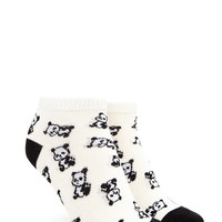 Panda Pattern Ankle Socks