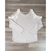 Final Sale - Sweet Me Crochet Lace in Oatmeal