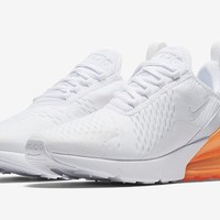 "Air Max 270 ""White/Orange"""