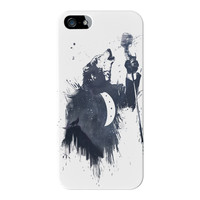 Wolf Song 3 Full Wrap High Quality 3D Printed Case for Apple iPhone 5 / 5s by Balazs Solti