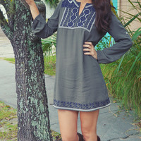 Perfect For On The Go Dress: Dark Green | Hope's