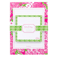Lilly Pulitzer Sticky Notes with Notepad