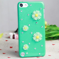 Flower ipod 5 case with Multi-color