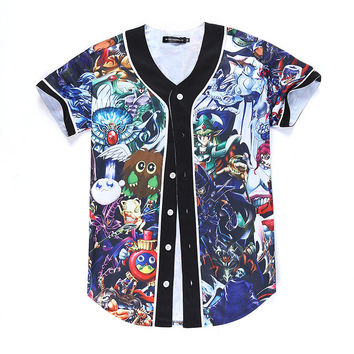 YuGiOh Monsters Jersey
