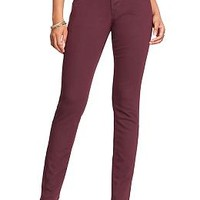 Women's The Rockstar Mid-Rise Skinny Pop-Color Jeans