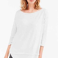 Silence + Noise Aimee Chiffon Shirttail Pullover Top - Urban Outfitters