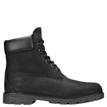 Timberland   Men's 6-Inch Basic Waterproof Boots w/Padded Collar