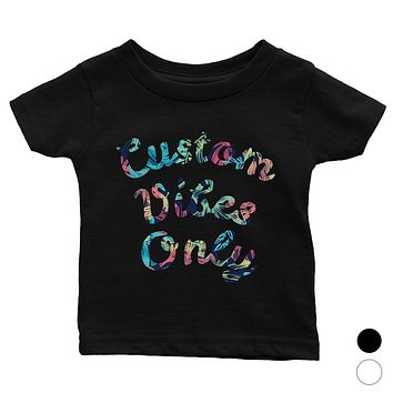 Colorful Overlay Text Lovely Sweet Baby Personalized T-Shirt Gift