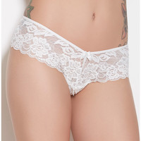 Lace Bow Panty