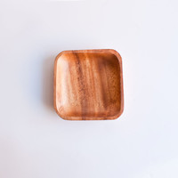 Fog Linen Work Little Acacia Wood Tray Medium
