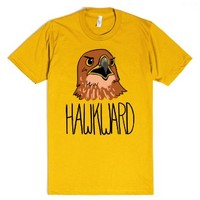 Hawkward-Unisex Gold T-Shirt