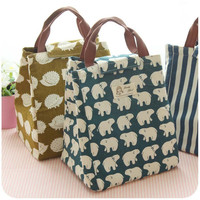 2016 Mummy Multifunction Insulation Bag Children&Baby Food Thermal Character Bottle Thermos Baby Bottle Box Ice Bag