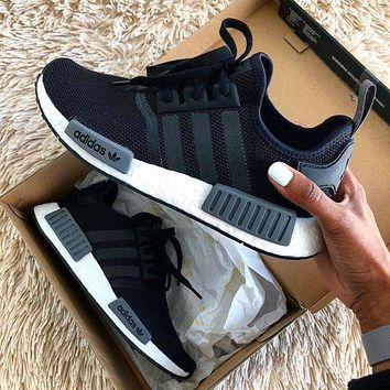 ADIDAS NMD R1 Hot selling classic men and women casual shoes sneakers
