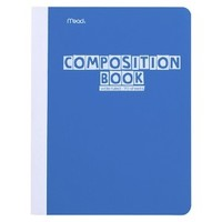 Mead Wide Ruled Composition Notebook - 70 Sheets - Blue