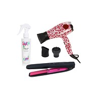 Travel Kit-Mini: Blow Dryer, Cordless Straightener and Rescue Hair Spray