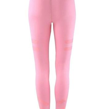 Leggings Army Green and Pink