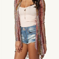 Tribal Chevron Lace Duster