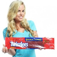"""Extra Long Giant 16"""" Twizzlers Candy"""